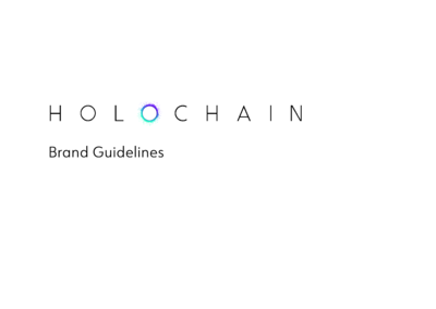 Holochain - Brand Guidelines