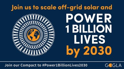 Power 1 Billion Lives Compact Call to Action Infographic